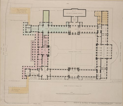 [Plan of the main floor of the British Museum]